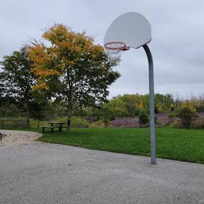Finally, A Relaxed Ball Hoop (Oct 4)...