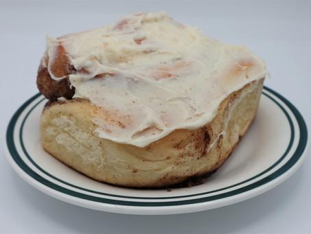 Sunday Morning Cinnamon Buns at Finley's - Nelson's Best Kept Secret??