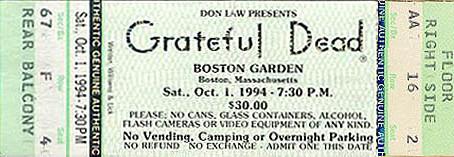 So Many Roads - 10-1-94 - Boston
