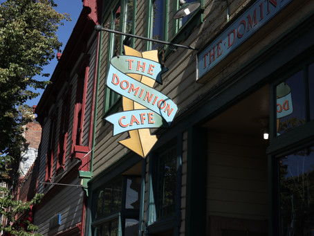 The Dominion Cafe - Vintage Goodness From a Time Not Forgotten
