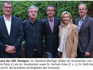 Dr. Hendrik Putze zum stellvertretenden Vorsitzenden der Bezirkszahnärztekammer Stuttgart gewählt.
