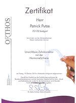 2018-10-19 Zertifikat PP HarmonieSchiene