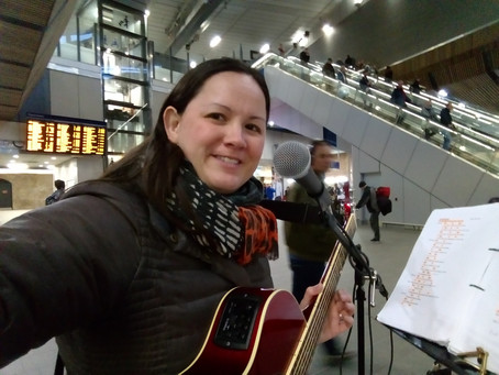 Busk In London Successful Audition