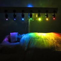 Crystal Light Bed