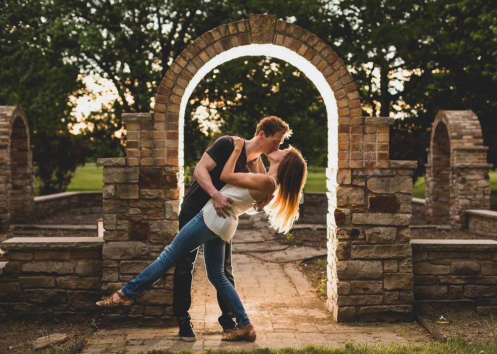 Creative engagement session, ocf photography,