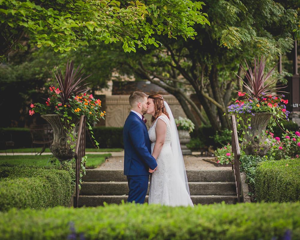 St. Charles wedding photographer. Hotel Baker.