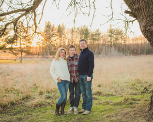 Sunset family session at Leroy oaks in Saint Charles IL. Composed and Exposed Photography