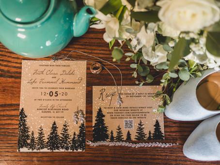 Faith and Luke's Winter Wedding -Elburn IL