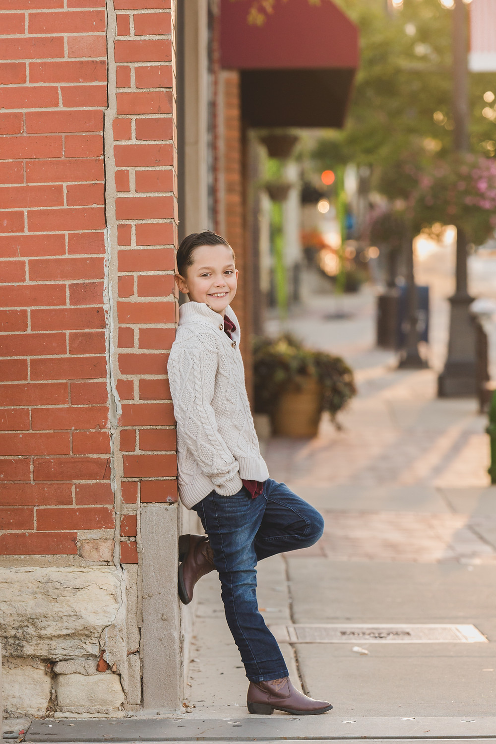 Urban session, downtown session, family photographer, Composed and Exposed Photography