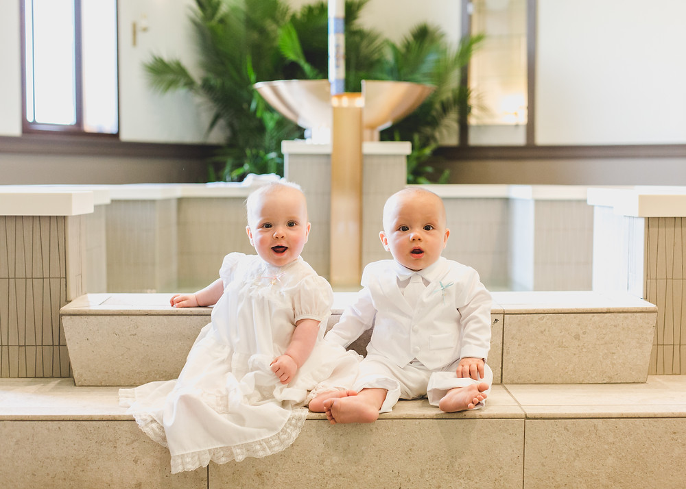 Twin Baptism, baptism photographer, event photographer Composed and Exposed Photography