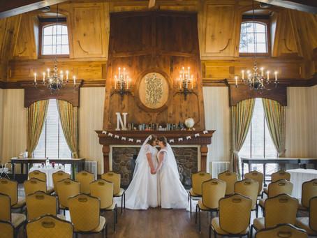 A Cozy Fall Wedding - Lemont Illinois