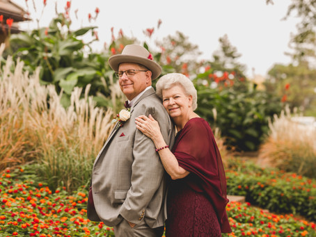 Micro Wedding at Orchard Valley Golf Course-Aurora IL