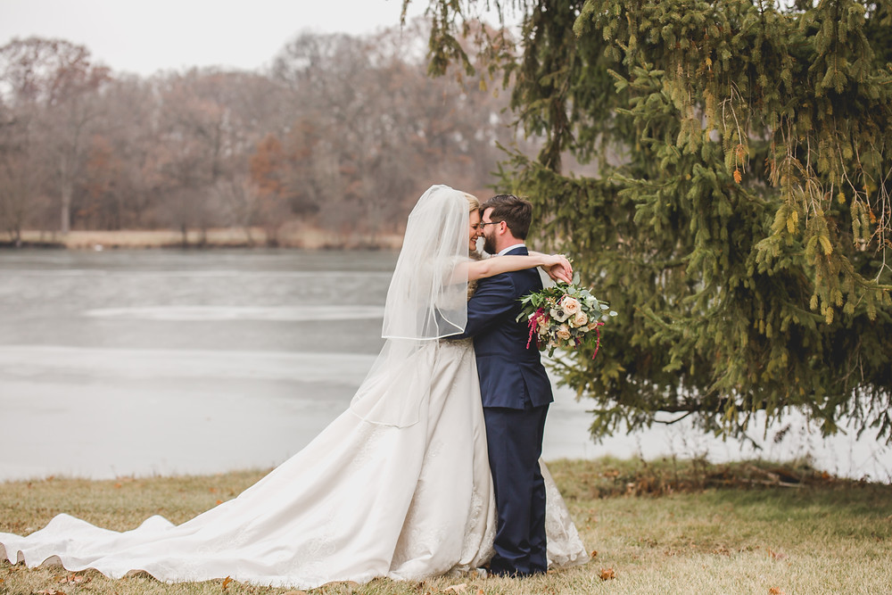 Winter wedding, Composed and Exposed Photography, Wedding photographer located in South Elgin IL,