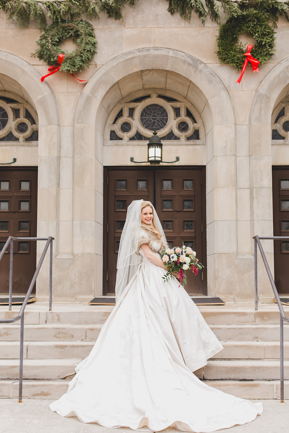 Gorgeous bride, wedding dress, Composed and Exposed Photography, Chicagoland wedding photographer,