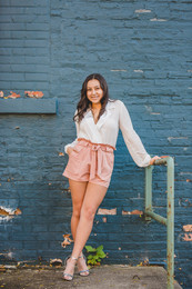 Urban downtown senior session. Composed and Exposed Photography #SeniorSession