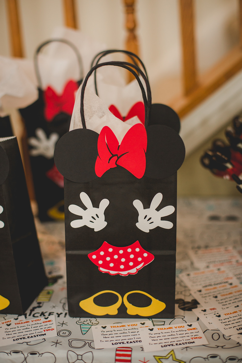 Micky Mouse themed goody bags