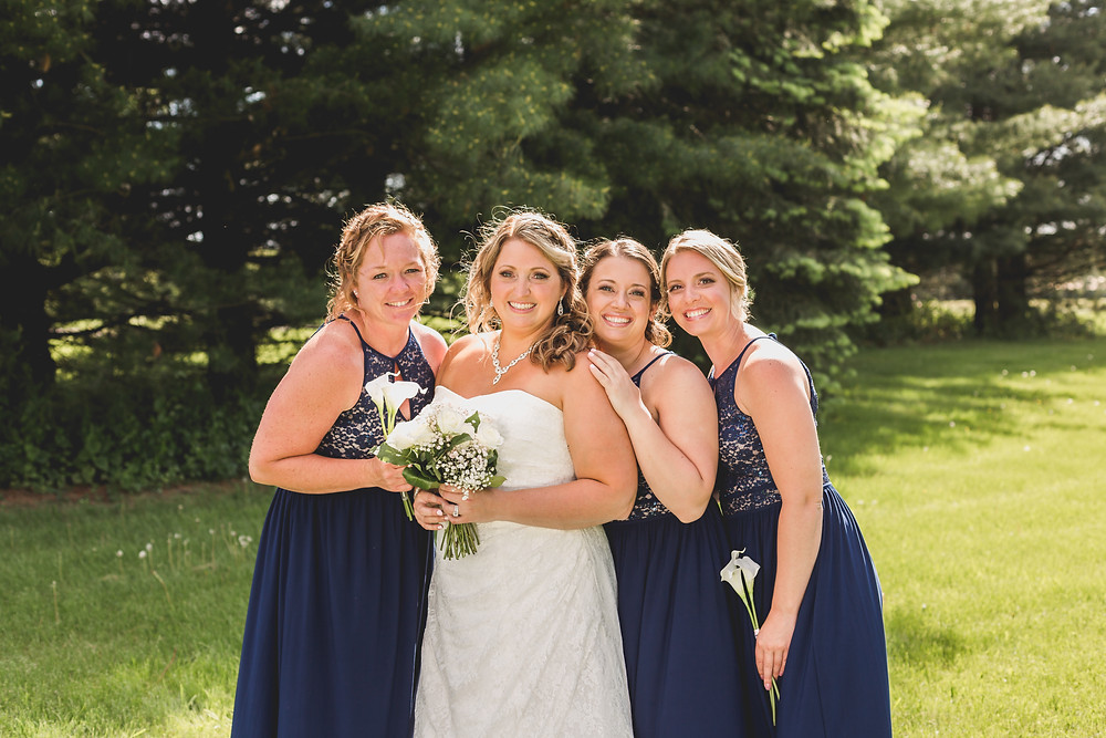 Beautiful bridesmaids, micro wedding, Wedding photographer