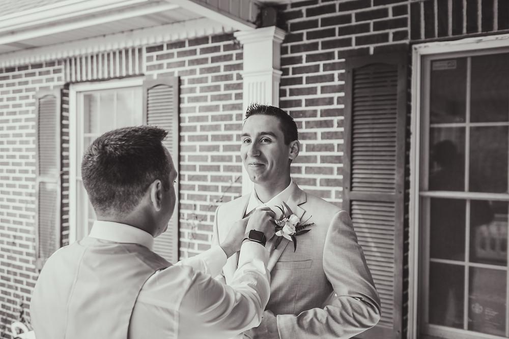 Northfork Farms Wedding - Oswego IL Getting Ready