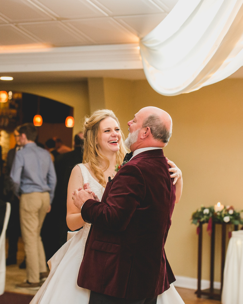 Emotional photographer, First dance father and daughter, Composed and Exposed Photography,