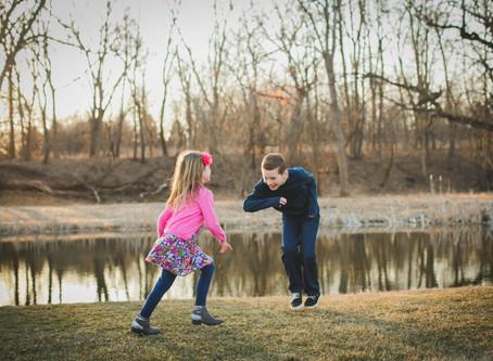 Playing Around  (Aiden & Emily)