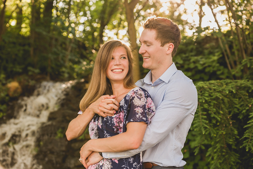 candid photography, summer engagement session, fun and adventurous engagement session, Illinois wedding photographer, Composed and Exposed Photography