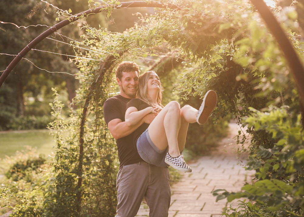 Midwest engagement session, Midwest wedding photographer, fun and casual engagement session, Composed and Exposed Photography