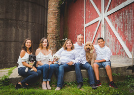 Rustic family session with dogs taken at Leroy Oaks St. Charles IL. #Professional Photographer #St.CharlesILPhotographer Composed and Exposed Photography