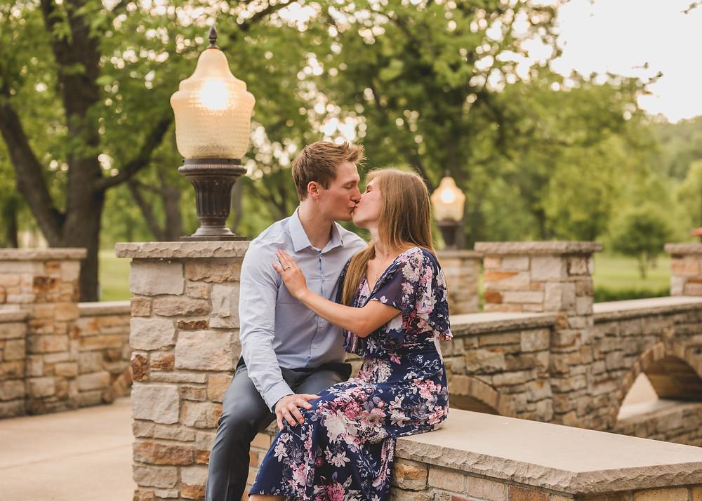 Romantic engagement session, Chicago wedding photographer