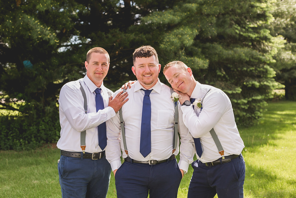Groomsmen, wedding photography, Illinois wedding photographer, micro wedding