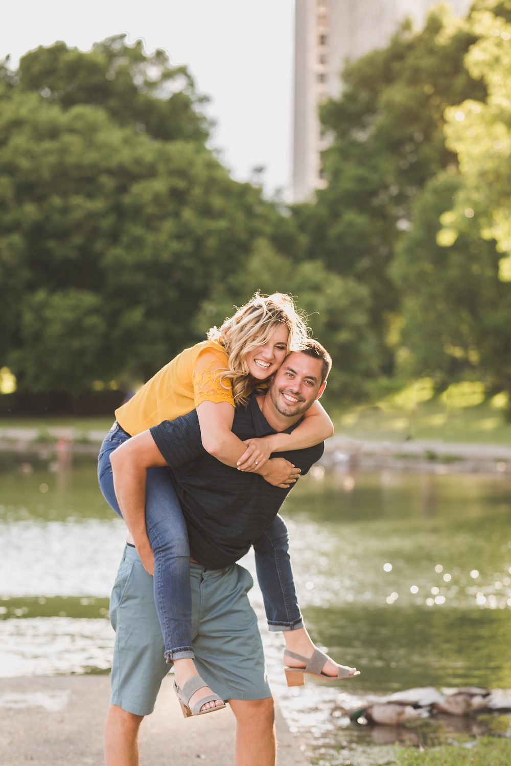 Summer Engagement session in Chicago, Composed and Exposed Photography