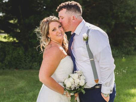 Rockford Illinois Summer Micro Wedding