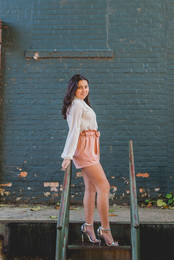 Downtown and industrial senior session. #SeniorSession #St.CharlesILPhotographer #ComposedandExposedPhotography