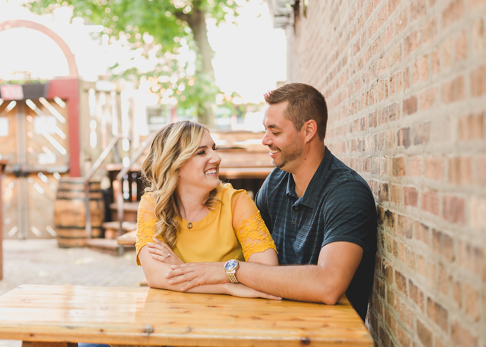 Candid photography, engagement session, Northwestern Illinois Photographer, Composed and Exposed Photography