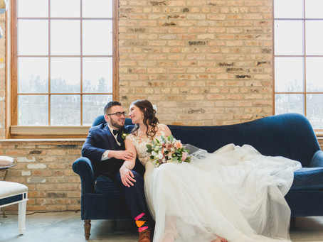 Modern Industrial Wedding-THE BRIX-Carpentersville, IL