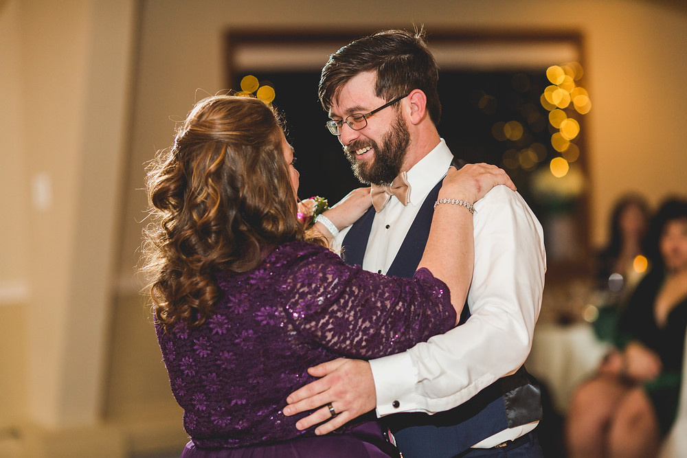 Mother son first dance, Riverview Banquet Batavia IL, Batavia wedding photographer,
