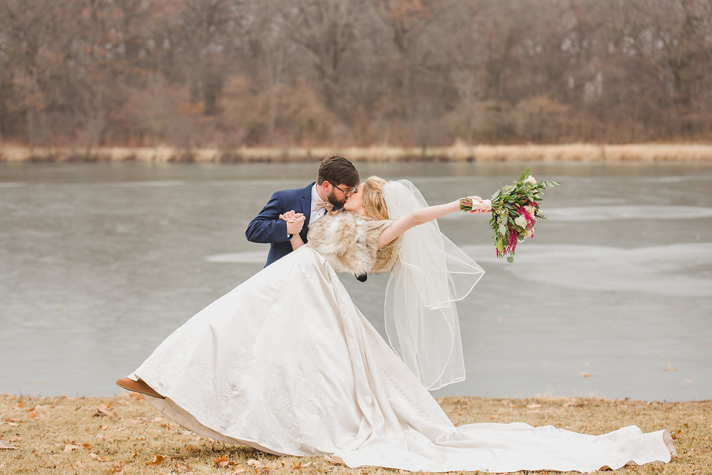 Wedding Photography. Winter wedding. Composed and Exposed Photography