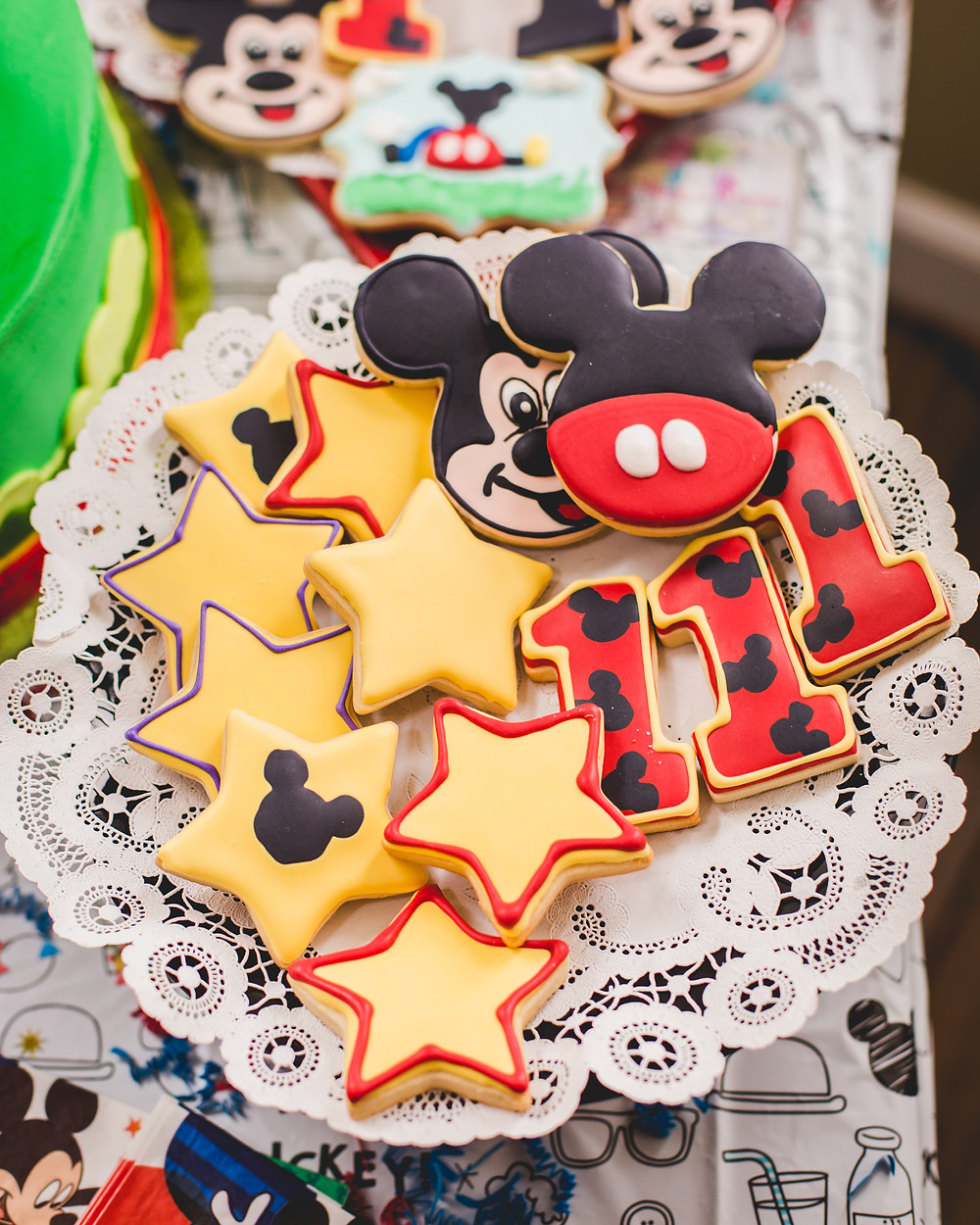 Micky Mouse Cookies. South Elgin event photographer