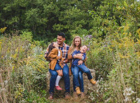Rustic Outdoor Family Session-Saint Charles, IL