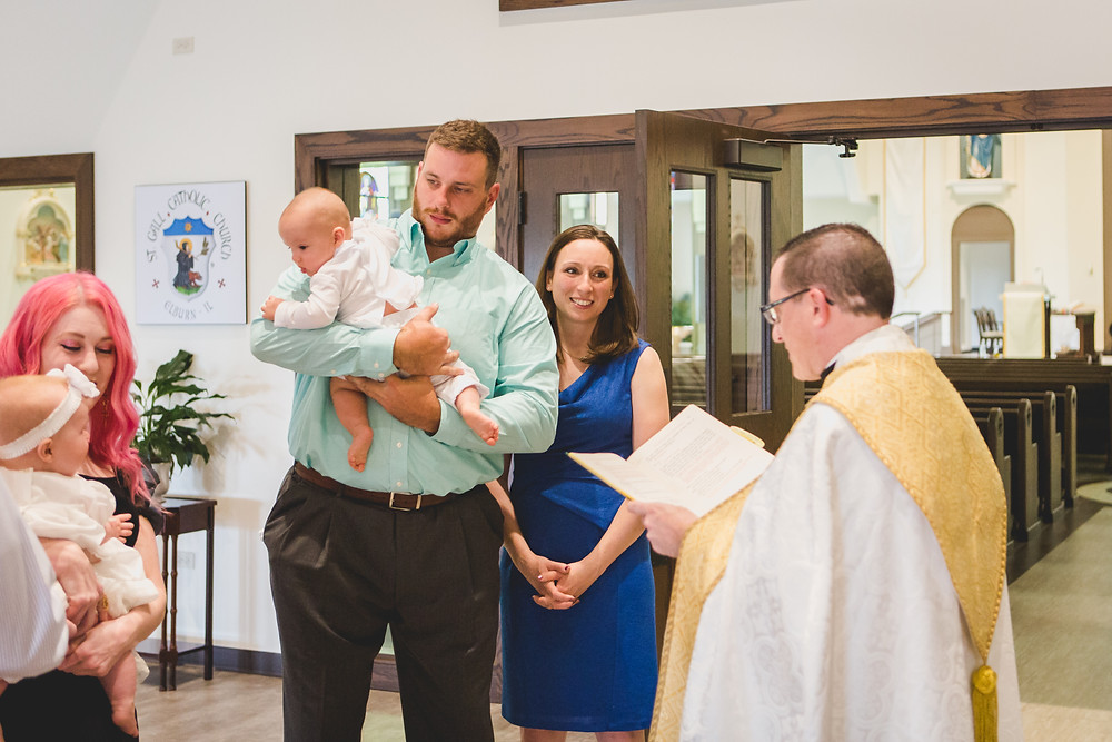 Illinois Photographer, Composed and Exposed Photography, Baptism photographer