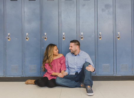 Brittany and Anthony's Engagement Session