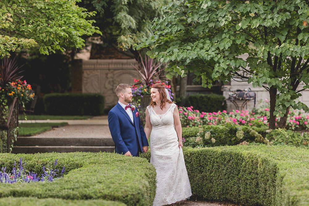 Hotel Baker wedding. Fall gardens