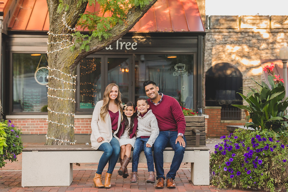 Downtown Batavia IL, Composed and Exposed Photography, Family photographer, Kane County Photographer