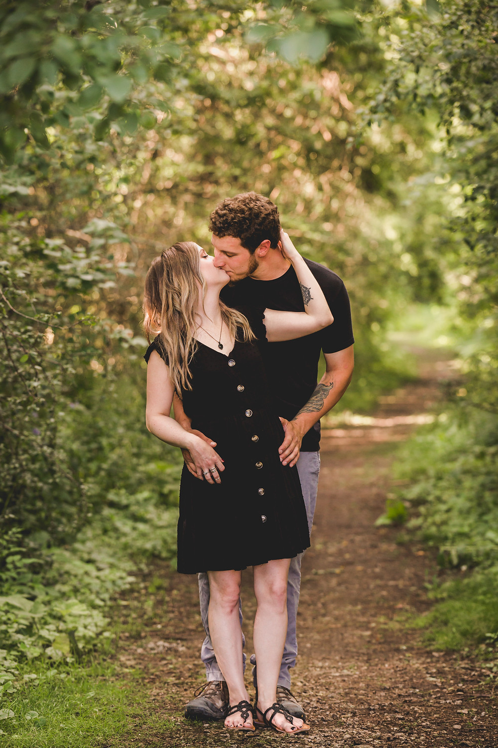 Engagement Session, Fabyan Forest Preserve Geneva IL,