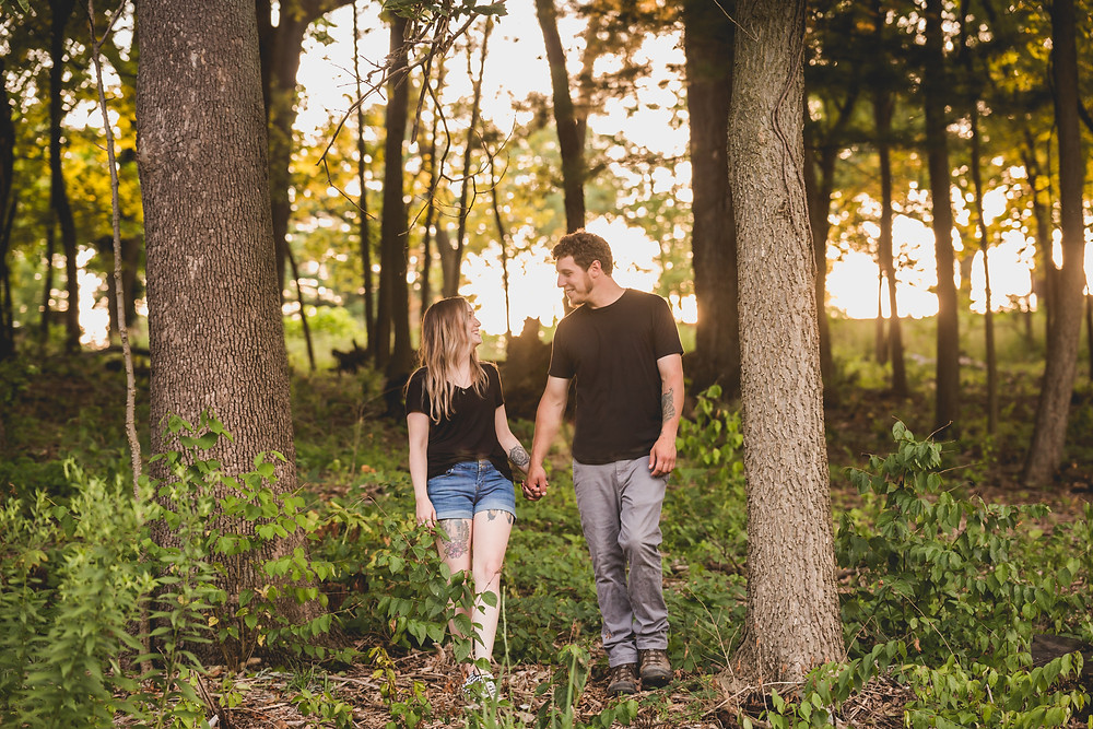 Fabyan Forest Preserve Geneva IL, Illinois photographer, wedding photographer, engagement session, Composed and Exposed Photography