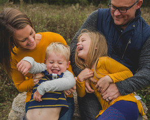 Fun family photos. Fall family portraits. Saint Charles IL photographer. Composed and Exposed Photography