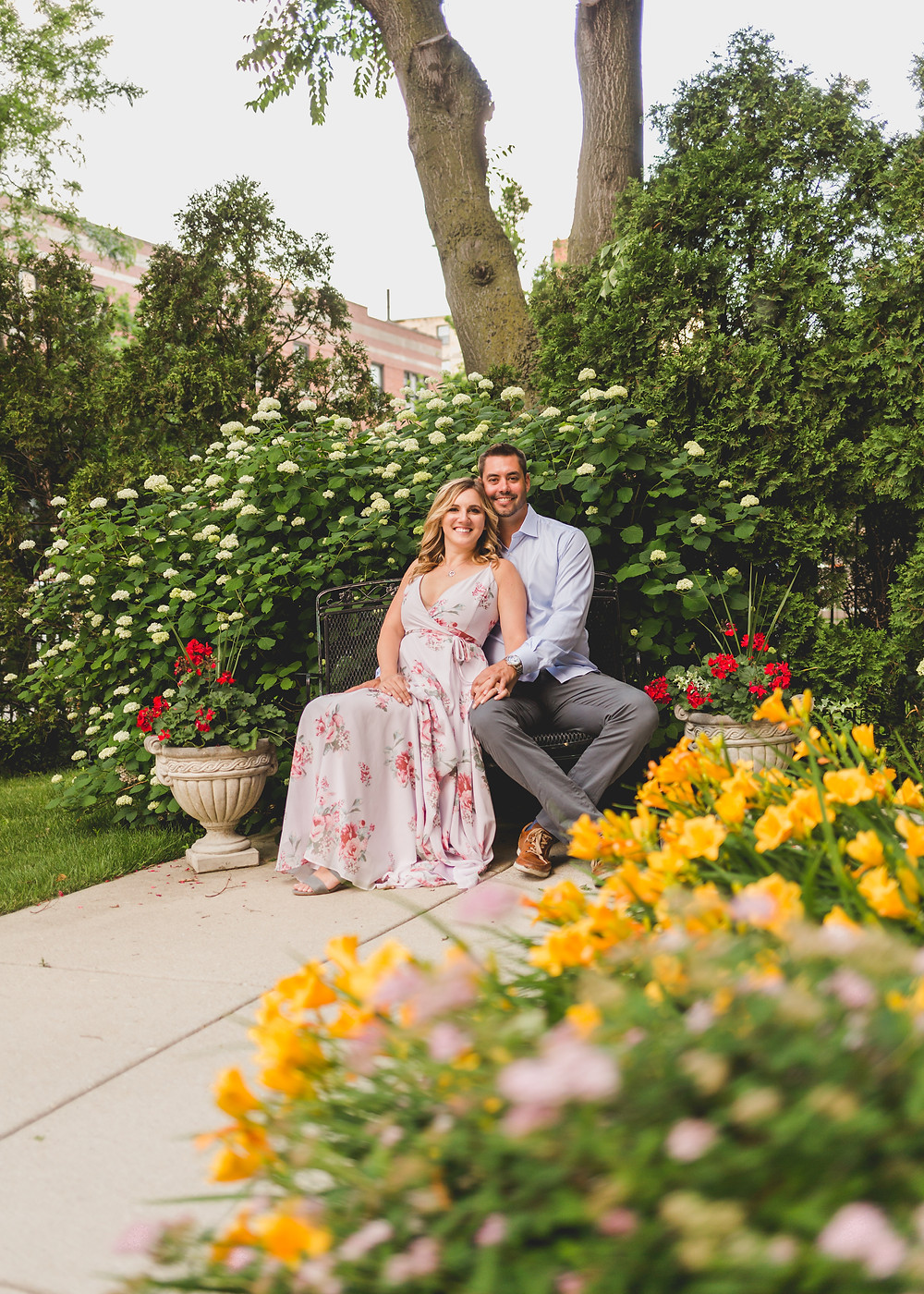 Summer engagement session, Composed and Exposed Photography, Chicago wedding photographer