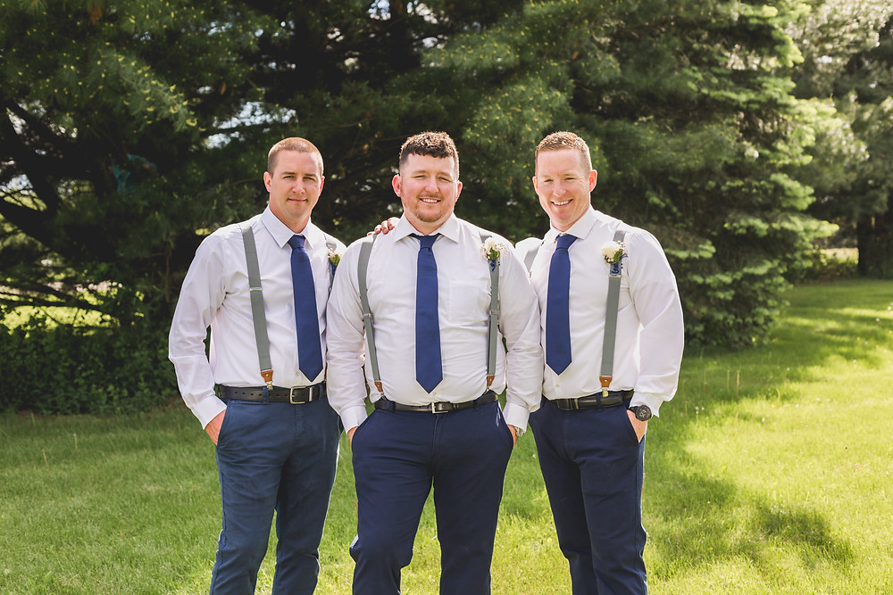 groomsmen, Rockford wedding, Micro wedding,