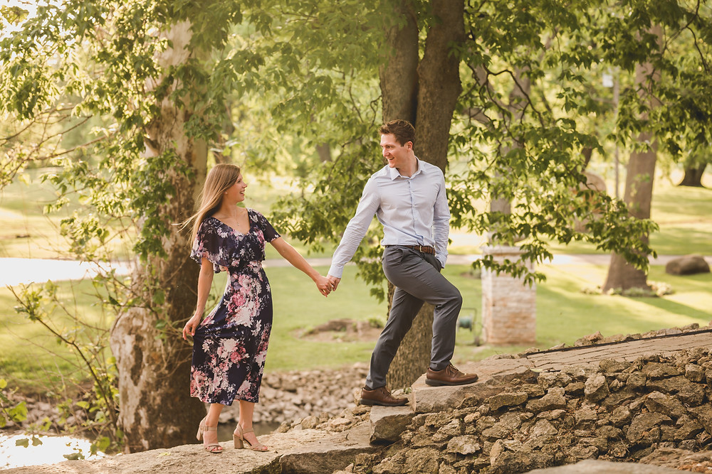 Summer Engagement session, Fun and adventurous engagement session, South Elgin Photographer, Composed and Exposed Photography