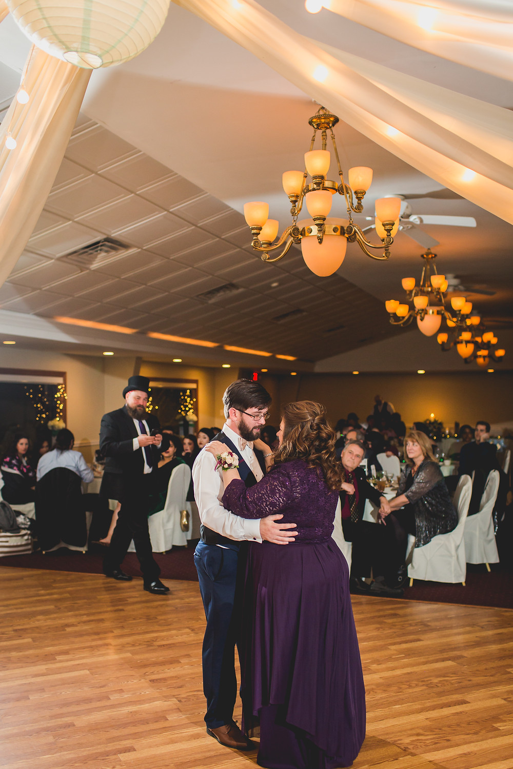 Mother son first dance, Riverview Banquets in Batavia IL,
