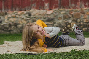 Kids playing and having fun at photo session. Leroy Oaks Sain t Charles IL.